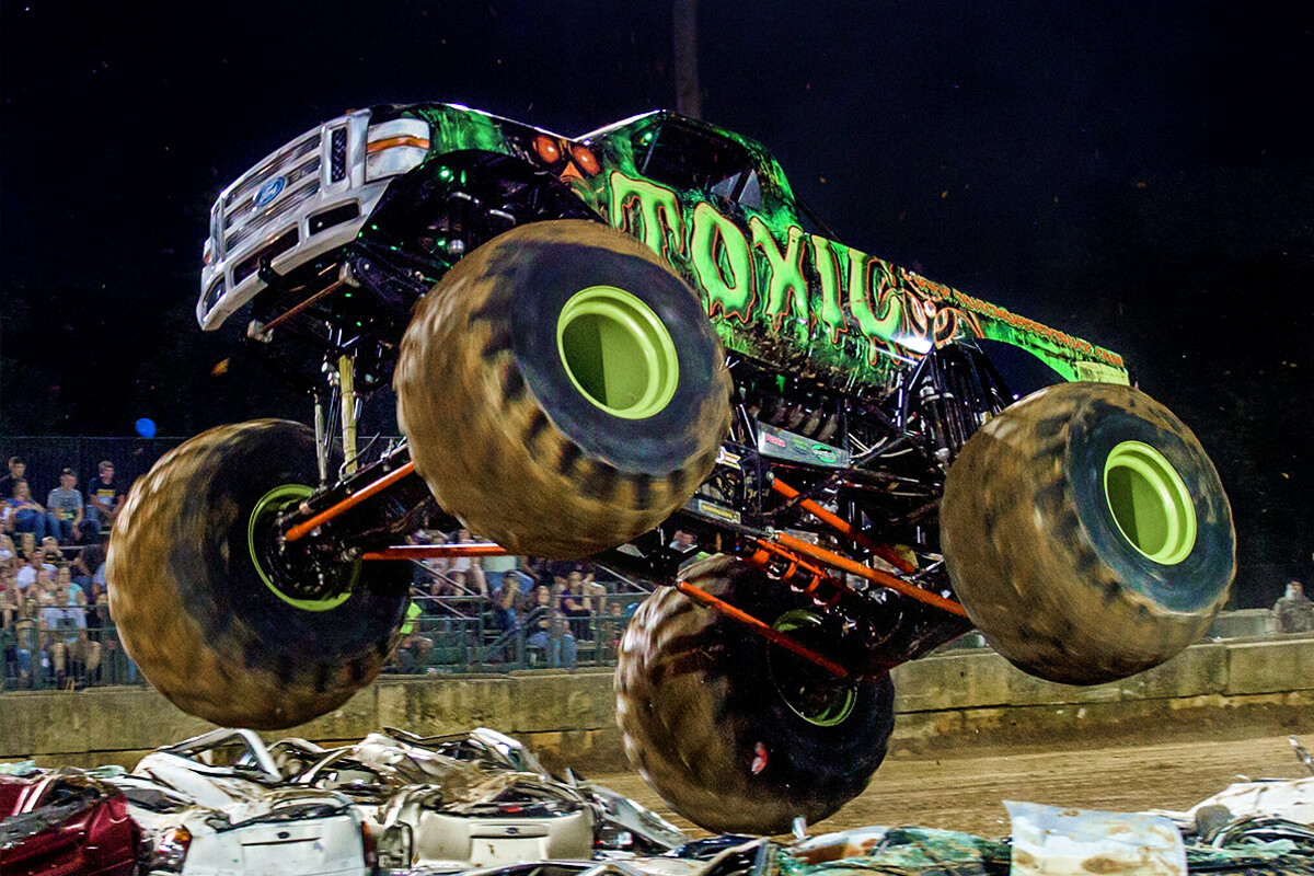 Toxic Monster Truck Official Site Of The Toxic Monster Truck